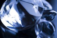 Diamonds background stock image