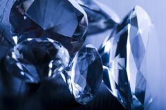 Diamonds  background Stock Photos