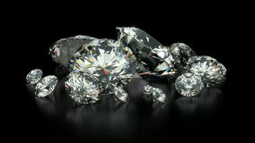 Diamonds stock footage