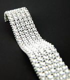 Diamonds bracelet Stock Image