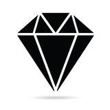 Diamonds brilliant black art vector Royalty Free Stock Photography