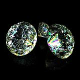 Diamonds cg. Diamond adamant gem jewel accessories Royalty Free Stock Photo