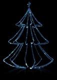 Diamonds Christmas Tree Stock Photography