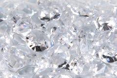 Diamonds. Close up of the diamonds Stock Photo