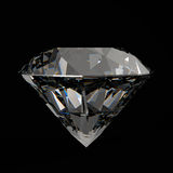 Diamonds 3d in composition Royalty Free Stock Images
