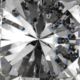 Diamonds 3d in composition Stock Photos