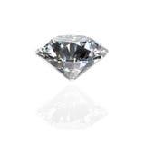 Diamonds on white background Stock Photography