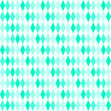 Diamonds in 4 different shades of turquoise Royalty Free Stock Photography