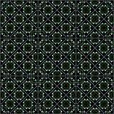 Diamonds Flowers Pattern. Royalty Free Stock Image