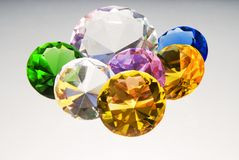 Diamonds are forever Royalty Free Stock Image