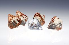 Diamonds and Gems Royalty Free Stock Photos