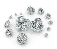 Diamonds group Royalty Free Stock Photography