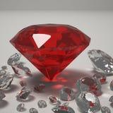 Diamonds, group Stock Image