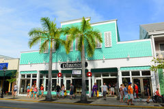 Diamonds International at Duval Street in Key West Stock Photo