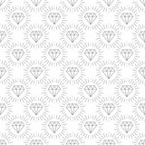 Diamonds, a large set of different versions the diamond stone Stock Photography
