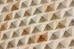 Diamonds Palace detail, Ferrara, Italy Stock Images