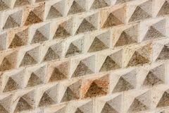 Diamonds Palace detail, Ferrara, Italy Stock Images