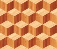 Diamonds Parquet Seamless Floor Pattern Stock Photo