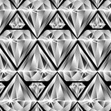 Diamonds pattern Stock Images
