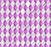 Diamonds, pattern, shading, purple, seamless pattern, vector. Royalty Free Stock Photo