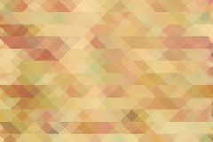 Diamonds pattern in vintage, retro colors. Background Royalty Free Stock Photo