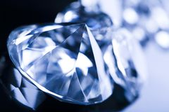 Diamonds - precious gift Royalty Free Stock Photo