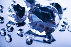 Diamonds - precious gift Royalty Free Stock Photos