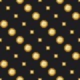 Diamonds seamless pattern Stock Image