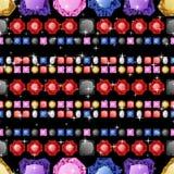Diamonds seamless pattern Royalty Free Stock Images
