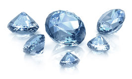 Diamonds set Royalty Free Stock Images