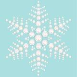 Diamonds snowflakes vector background Stock Photos