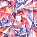 Diamonds texture background Stock Photo