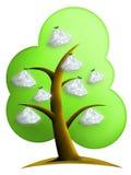 Diamonds Tree Royalty Free Stock Photos