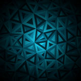 Diamonds triangle abstract pattern. Vector Royalty Free Stock Photo