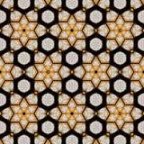 Diamont haxagonal ciągły tło z mody gemstone skutkiem zdjęcia royalty free