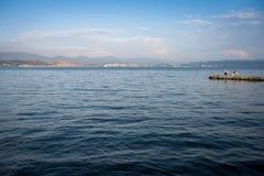 Dian Chi sjö Arkivbild