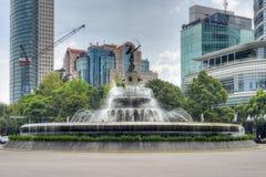 Diana Cazadora Fountain - Cidade do México Imagens de Stock Royalty Free