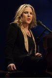 Diana Krall in concert. Stock Photo
