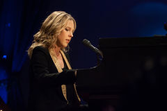 Diana Krall in concert. Royalty Free Stock Photos