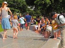 Diana księżnej walii pomnika fontanna Zdjęcie Royalty Free