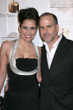 Diana Lansleen, dress by Yeaggy with Mark Vulcano arrives at the 39th Annual Annie Awards Stock Image