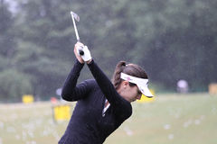 Diana Luna at  Evian Masters 2010 Stock Photos