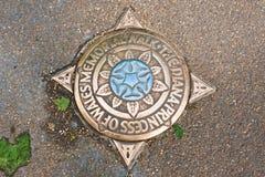 Diana, marqueur commémoratif de promenade de princesse de Galles photographie stock libre de droits