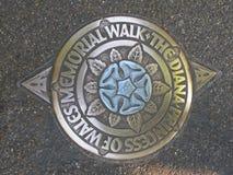 Diana, passeggiata commemorativa del Principessa del Galles fotografia stock