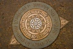 Diana Princess av den Wales minnesmärken går, Hyde Park, London, Englan Royaltyfri Foto