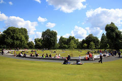 The Diana Princess of Wales Memorial Fountain Stock Photography