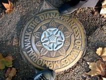 The Diana, princess of wales memorial walk Royalty Free Stock Photos