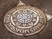 The Diana Princess Of Wales Memorial Walk Stock Images