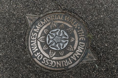 The Diana Princess of Wales memorial walk Stock Images