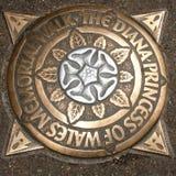 Diana Princess of Wales Memorial Walk Royalty Free Stock Image
